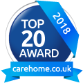 carehome.co.uk - Top 20 Award 2018